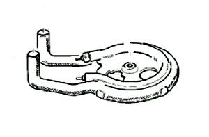 3095653 — Элемент нагревательный к кофеварке Braun - Для бытовой техники BrAun