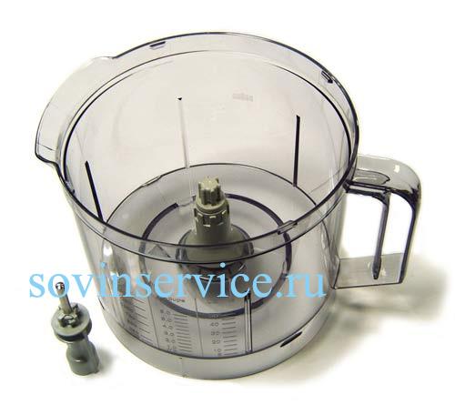 3210652 — Чаша смесительная 2л кухонного комбайна Braun K850 — K3000 (тип 3210) - Для бытовой техники BrAun