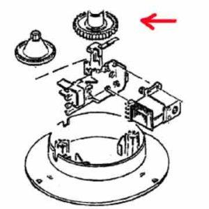 4161630 — Шестерня соковыжималки Braun - Для бытовой техники BrAun