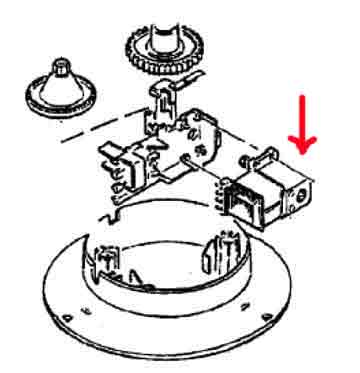 4161636 — Электродвигатель 20W соковыжималки Braun MPZ6, MPZ7, MPZ8, MPZ9 (тип 4161) - Для бытовой техники BrAun