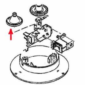 4161647 — Шестерня соковыжималки Braun MPZ6, MPZ7, MPZ8, MPZ9 (4161) - Для бытовой техники BrAun