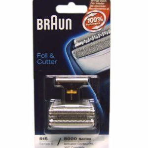 5646761 — Комплект бреющая сетка и режущий блок 8000 к бритвам Braun - Для бытовой техники BrAun