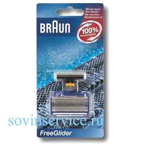 5710761 — Комплект бреющая сетка и режущий блок к бритвам Braun - Для бытовой техники BrAun