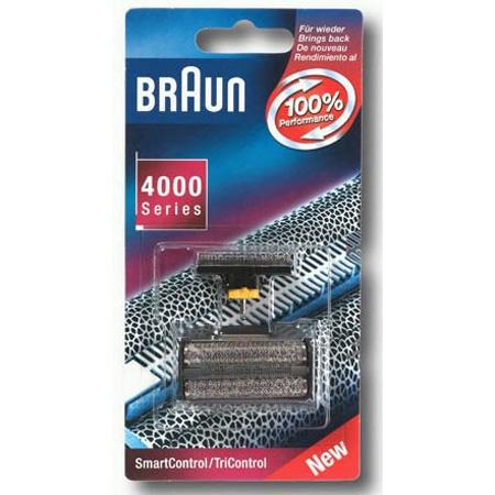 5713763 — Сетка и режущий блок, серия  4000, цвет черный Braun - Для бытовой техники BrAun