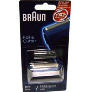 5733762 — Комплект сетка и режущий блок 20S к бритвам Braun - Для бытовой техники BrAun
