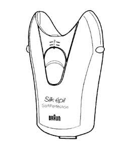 7030292 — Корпус с мотором и шестернями (аметитст) к эпиляторам Braun - Для бытовой техники BrAun