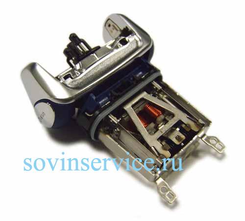 7030640 — Электродвигатель (корпус серебристый с синим) к бритвам Braun - Для бытовой техники BrAun