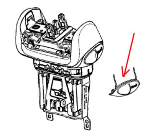 7030697 — Фиксатор бритвенной головки к бритвам Braun (тип 5671, 5672, 5674) - Для бытовой техники BrAun