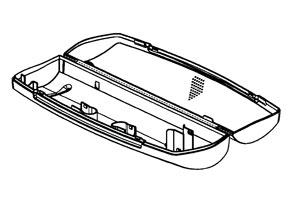 7040143 — Контейнер для хранения зубной щетки - Для бытовой техники BrAun