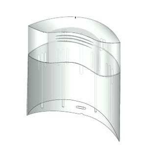 7040152 — Контейнер для хранения насадок - Для бытовой техники BrAun