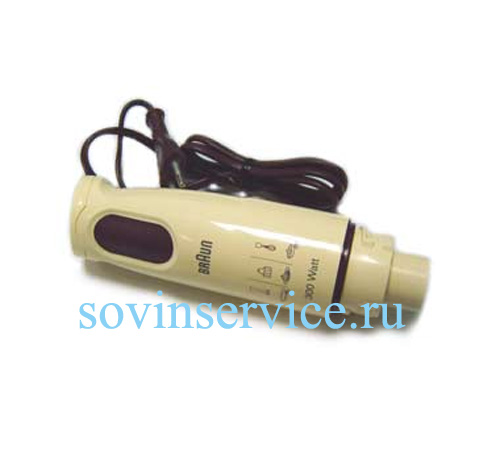 7050214 — Блендер 300W Braun MR390 — MR440 (тип 4179, 4185), без насадок, цвет ваниль - Для бытовой техники BrAun