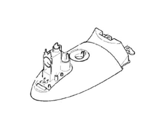 7050495 — Бачок (часть корпуса) светло-голубой к утюгам Braun (тип 4671, 4695, 4696) - Для бытовой техники BrAun