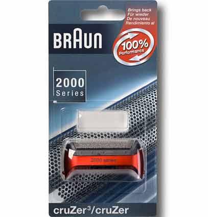 7091064 — Сетка бреющая к бритве Braun. Цвет красный - Для бытовой техники BrAun