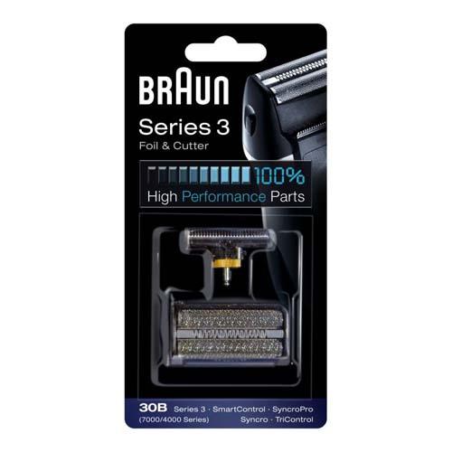 81387936 — Сетка и нож 30B 7000/4000 для бритв Braun Cyncro - Для бытовой техники BrAun