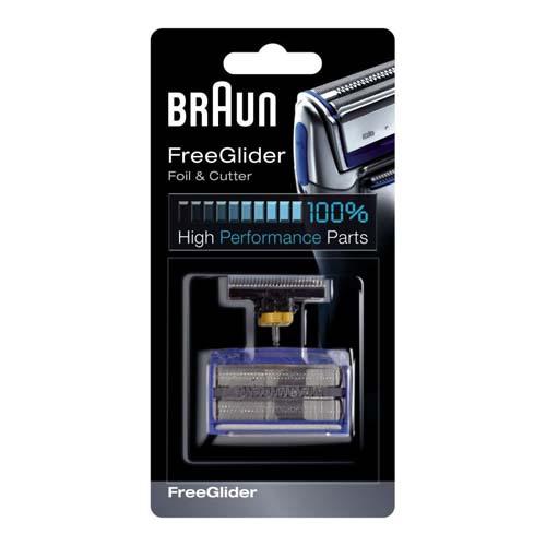 81253289 — Сетка бреющая и режущий блок к бритвам Braun FreeGlider 6610 — 6690 - Для бытовой техники BrAun