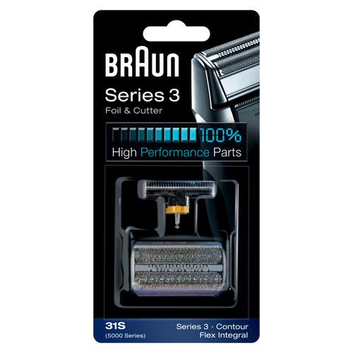 81387940 — Комплект сетка + режущий нож S31 5000/6000 (цвет серебристый) - Для бытовой техники BrAun