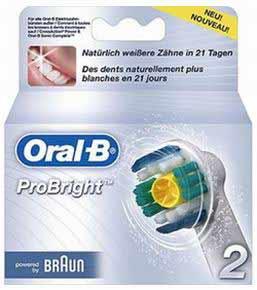4709772 — Насадка к зубной щетке EB 18-2 ProBright - Для бытовой техники BrAun